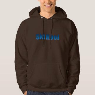 Ski Kool chocolate hoddie Pullover