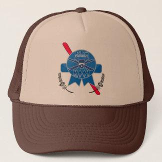 Ski kool Pabst Blue Ribbon truckers cap