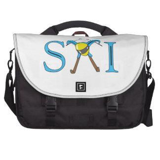 SKI LAPTOP MESSENGER BAG