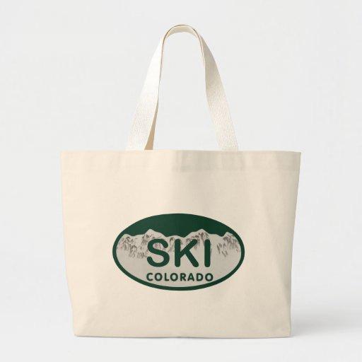 ski license oval bag