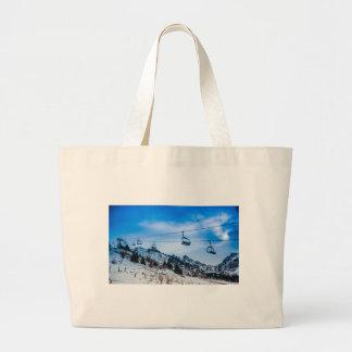 Ski Lift Canvas Bag