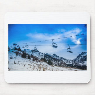 Ski Lift Mouse Pads