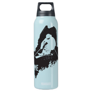 Ski Maine Insulated Water Bottle