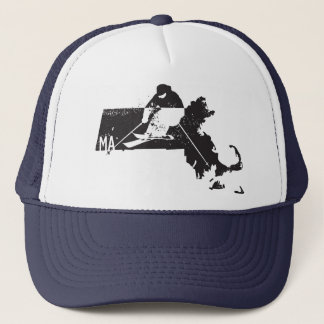 Ski Massachusetts Trucker Hat