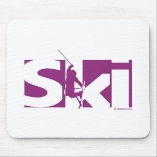 Ski Mouse Mats