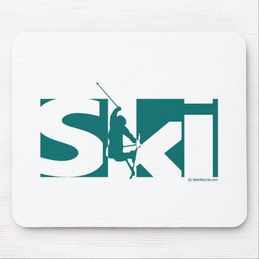 Ski Mouse Pads