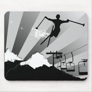 ski. mouse pad