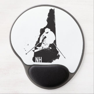 Ski New Hampshire Gel Mouse Pad