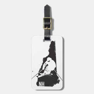 Ski New Hampshire Luggage Tag