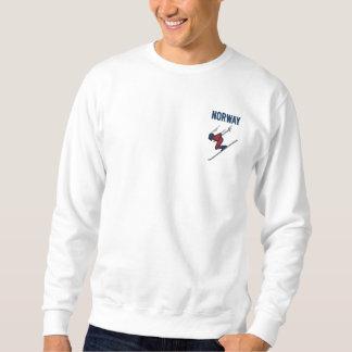Ski Norway Custom Country Sports Embroidered Sweatshirt