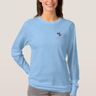 SKI NORWAY Norwegian Embroidered Long Sleeve T-Shirt