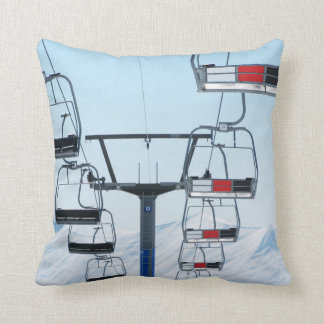 Ski Park Chairlifts Cushion