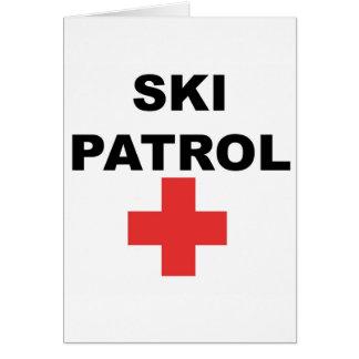 Ski Patrol Card