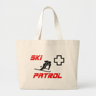 "Ski Patrol - ""Skier"" Canvas Bags"