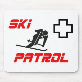 "Ski Patrol - ""Skier"" Mousepad"