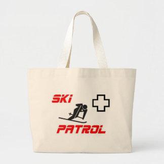 """Ski Patrol - """"Skier"""" Jumbo Tote Bag"""
