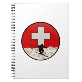 Ski Patrol Spiral Notebook