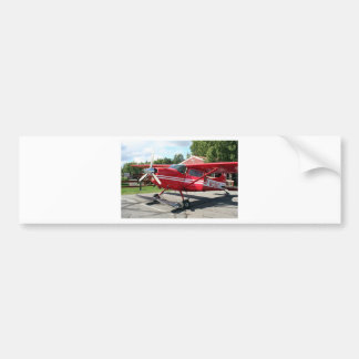 Ski plane Talkeetna Alaska USA Bumper Stickers