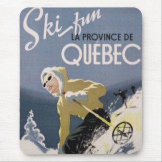 Ski Quebec Mousepad