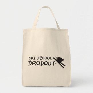 Ski School Dropout Canvas Bag