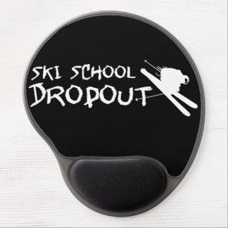 Ski School Dropout Gel Mouse Pad