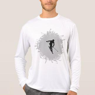 Ski Scribble Style T-Shirt
