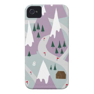 Ski slopes Case-Mate iPhone 4 cases