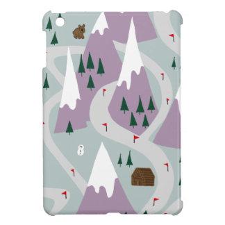 Ski slopes iPad mini cases