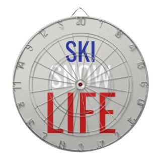 Ski, Snow, Life Dartboard