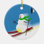 Ski Theme Gift Ideas Christmas Tree Ornaments