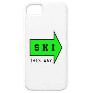 SKI THIS WAY iPhone 5 CASE