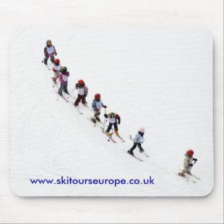 Ski Tour Mouse mat
