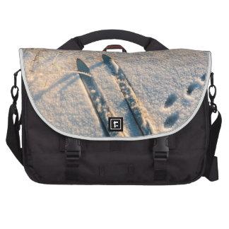 Ski track computer bag