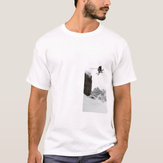 ski tshirt, If it's too steep, than you're too old T-Shirt