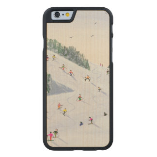 Ski-vening 1995 carved® maple iPhone 6 slim case