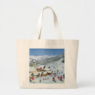 Ski Whizzz! 1991 Jumbo Tote Bag