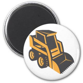 skid steer digger truck 6 cm round magnet