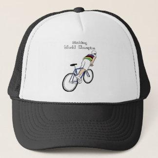 Skidding World Champion (In Rainbow Jersey) Trucker Hat