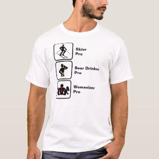 Skier, Beer Drinker, Womanizer T-Shirt