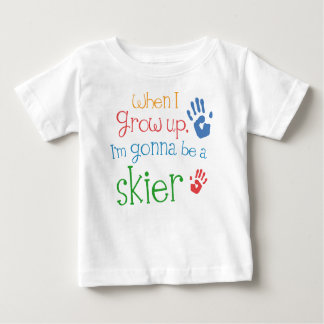 Skier (Future) Infant Baby T-Shirt
