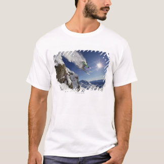Skier in Midair T-Shirt
