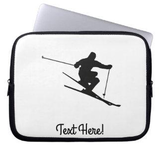 Skier Laptop Sleeve