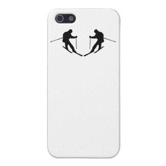 Skier Mirror Image iPhone 5 Case