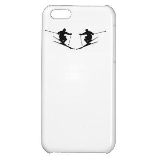 Skier Mirror Image iPhone 5C Case