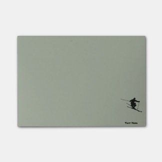 Skier Post-it Notes