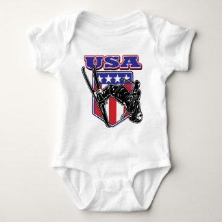 Skier USA Baby Bodysuit