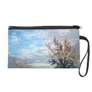 Skies and Nature Wristlet Clutches