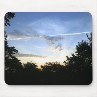 skies mouse pad