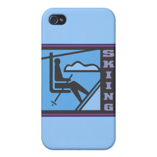 Skiing and Gifts Covers For iPhone 4