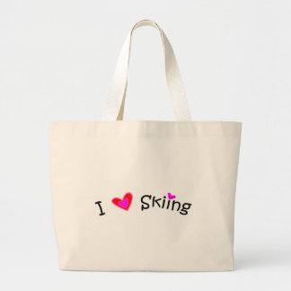 Skiing Canvas Bags
